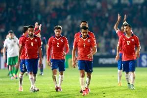 Selección de Chile, 2015