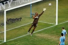 Gol forlán tiro libre