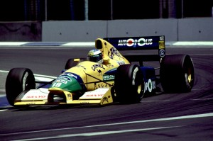 Formula one Championship 1991 - Michael Schumacher (ger) Benetton Ford - Team Benetton