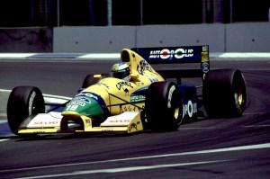 Formula one Championship 1991 - Michael Schumacher (ger) Benetton Ford - Team Benetton