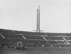 World Cup Finals 1930. Uruguay. Montevideo. Argentina 6 v Mexico 3. The Centenary Stadium, Montevideo, which had been officially opened the previous day.