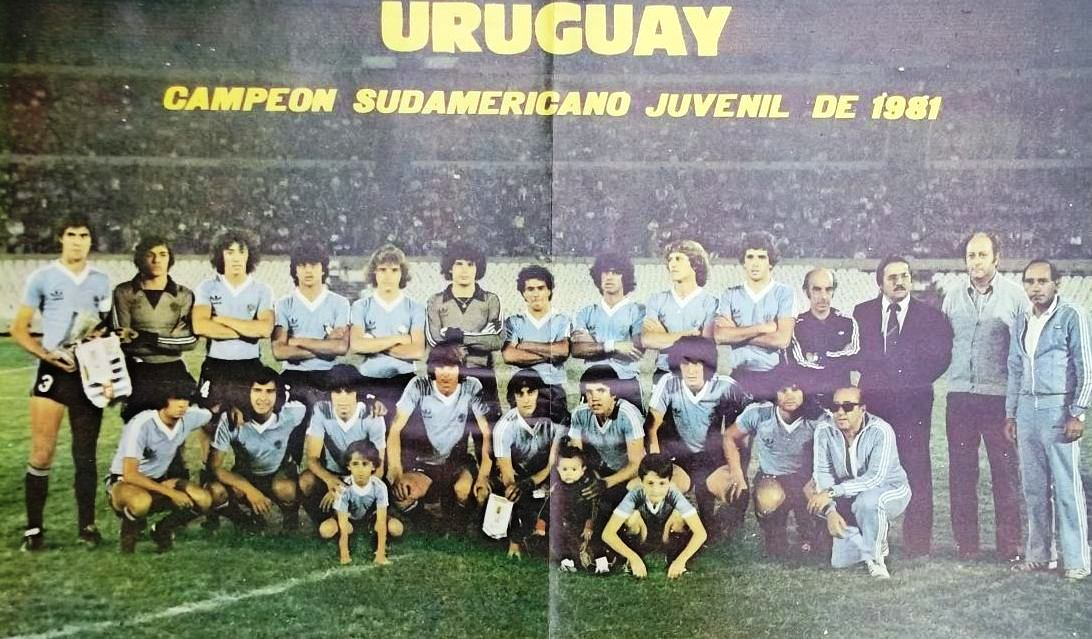 Image result for uruguay sub 20 1981